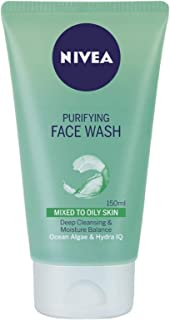Nivea Purifying Face Wash for Oily Skin - 150 ml