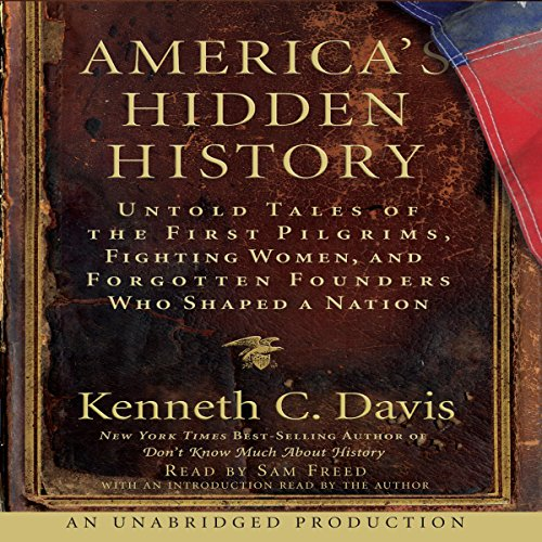 America's Hidden History audiobook cover art