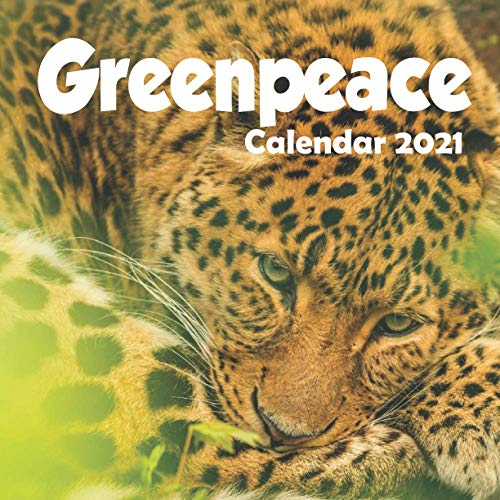 Greenpeace: 2021 Wall Calendar - 8.5'x8.5', 12 Months - Standing Up for The...