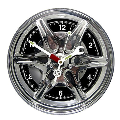 Custom auto wheel wall clock