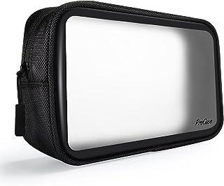 [ProCase] 収納ポーチ 化粧ポーチ 耐久性 クォートサイズ 持ち運び便利 ジッパー付き収納ポーチ 洗面用具入れ 旅行用化粧品 海外国内旅行用便利グッズ (1パック, style 5)