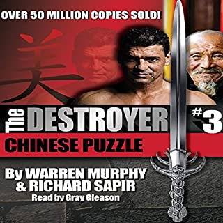 The Destroyer/Chinese Puzzle audiobook cover art