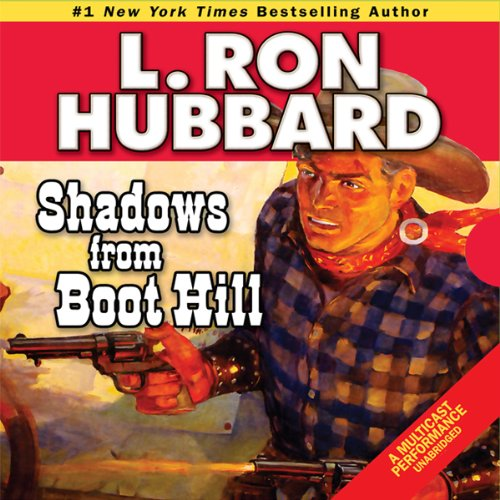 Shadows from Boot Hill audiobook cover art