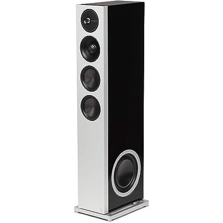 "Definitive Technology D17 Demand Series Modern High-Performance 3-Way Tower Speaker (Left-Channel) - Single, Black | Dual 10"" Passive Bass Radiators"