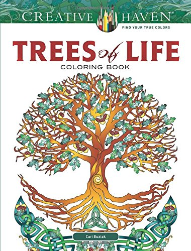 Creative Haven Trees of Life Coloring Book (Creative Haven Coloring Book)