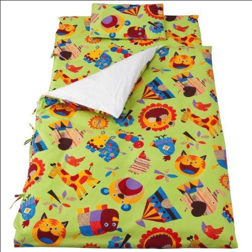 フジキお昼寝布団7点セットZOOグリーンベビー用手さげバッグ付で持ち運びに便利グリーン