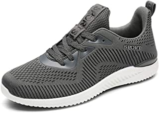 SKLT Air Mesh Running Shoes for Men Outdoor Sports Shoes Women Breathable Ultra Light Sneakers Athletic Jogging Lace Up Footwear