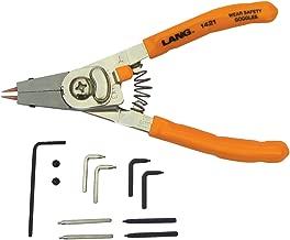 Lang Tools 1421 Internal/External Quick Switch Retaining Ring Pliers