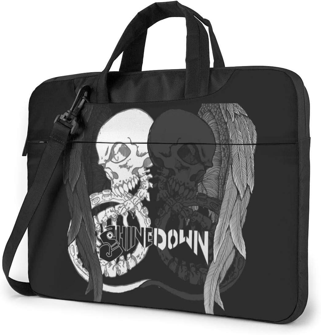 Ktdbthut Shinedown Shoulder Messenger Leisure Case Briefcase Sleeve for 13 Inch 14 Inch 15.6 Inch Laptop Laptop Case