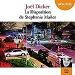 La disparition de Stephanie Mailer audiobook cover art