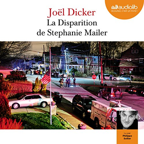 La disparition de Stephanie Mailer audiobook cover art