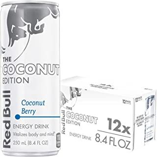Red Bull Energy Drink, Coconut Berry, 8.4 Fl Oz (24 Count)