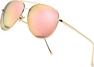 SUNGAIT Women's Lightweight Oversized Aviator sunglasses...