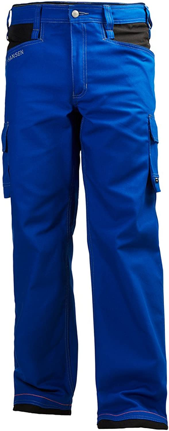 Helly Hansen 76440_559-C56 Chelsea Service Work Pants, C56, Cobalt bluee Black