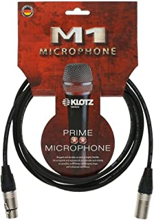 Klotz M1 Basic microfoonkabel 7,5 meter XLR-XLR Neutrik-stekker
