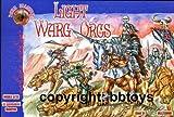 Alianza Oscura 1/72 luz Warg Orcos # 72009 - Figuras Modelo de plástico