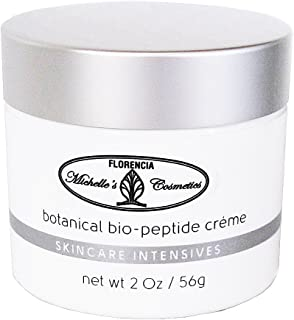 Florencia Botanical Bio-Peptide Cream An Intensive Anti Aging Hydrating Cream Firms & Moisturizes, Rejuvenates & Boosts COLLAGEN Production. MiCo Michelle's Cosmetics by Florencia 2 Oz