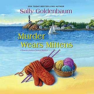 Murder Wears Mittens cover art