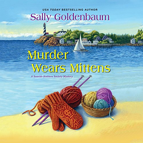 Murder Wears Mittens audiobook cover art