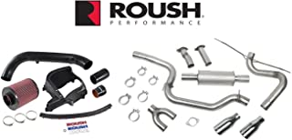 2013-2017 Focus Cat Back Exhaust System and Cold Air Kit 422065 421610