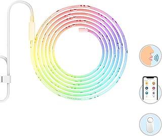 Lâmpada Xiaomi Yeelight RGB LED Inteligente Decoração 16 milhões Cores, Funciona com Alexa