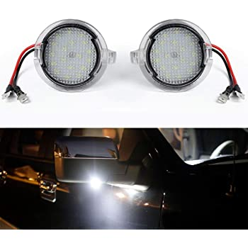 Ledlight Ford Led Puddle Light Under Side Rear View Mirror Assembly Lamp for Ford F150 Explorer Edge Mondeo Fusion Raptor Mustang Taurus Flex Etc
