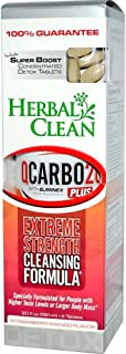 HERBAL CLEAN DETOX Q Carbo Liquid Strawberry Mango 20 OZ