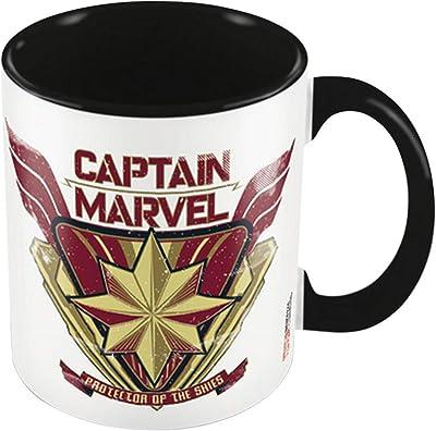 CAPTAIN MARVEL キャプテンマーベル - PROTECTOR BLACK/マグカップ 【公式/オフィシャル】
