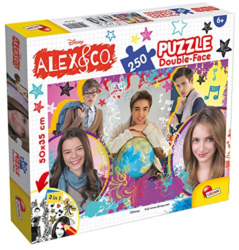 Lisciani Giochi 57184 - Puzzle DF Plus 250 Alex & Co My World