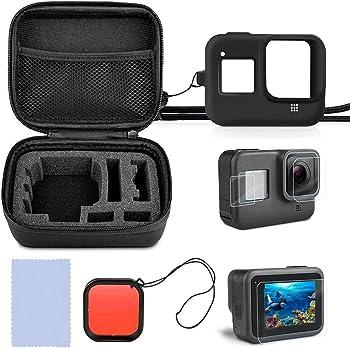 Negro a prueba de choques Portátil caso Para Gopro Hd Hero 3 3 2 1 Accesorio cámara s tamaño
