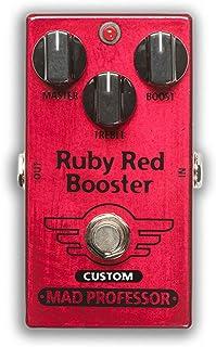 "MAD PROFESSER マッドプロフェッサー エフェクター Custom Pedal Series モディファイモデル ブースター Ruby Red Booster FAC""Nashville Hot Mids Solo Boost"" MO..."