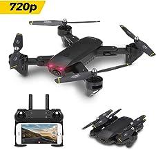 BINDEN Drone Plegable DM107s Selfie con Doble Cámara HD,