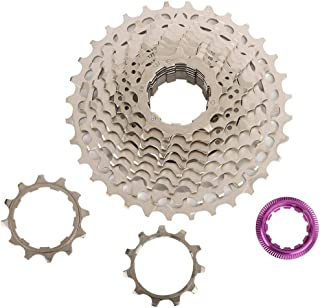 /42T bicicletta ruota libera di ricambio con viti chiave 10/velocit/à 11/ Alomejor Bike ruota libera a cassetta pignoni