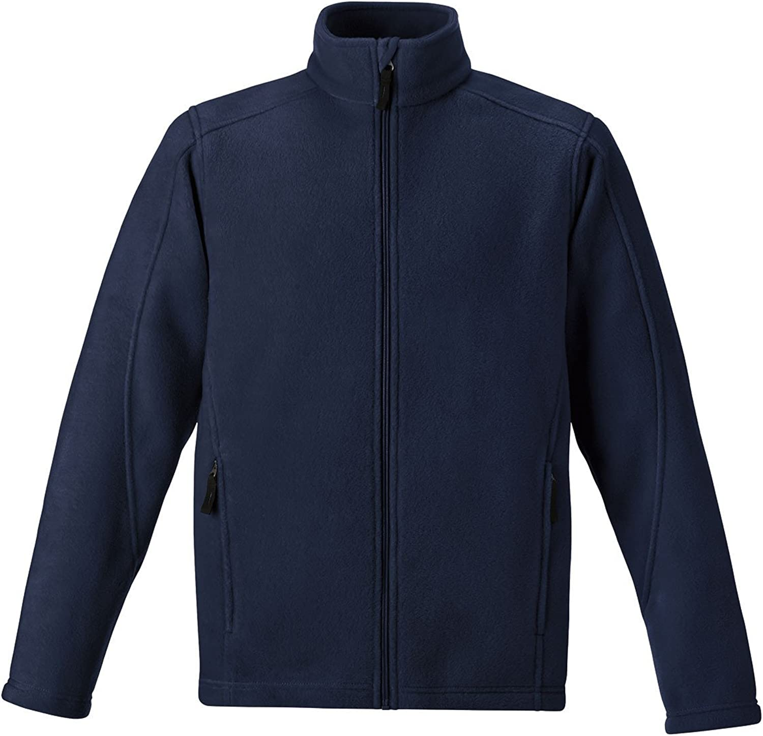 North End Journey Core 365 Tall Mens Fleece Jacket (Navy 3X-T)
