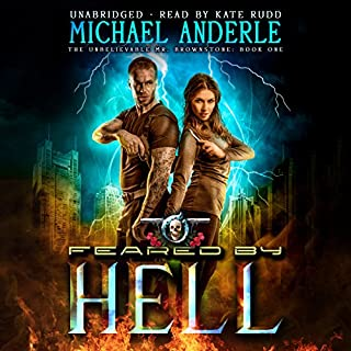Feared by Hell audiobook cover art