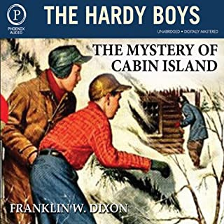 The Mystery of Cabin Island audiobook cover art