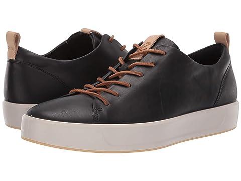 ea9e629031bc ECCO Soft 8 LX Retro Sneaker at Zappos.com