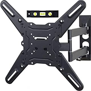 TV LCD Monitor Wall Mount Full Motion Swing Out Tilt Swivel Articulating Arm Angle Adjustable for Flat Screen TVs 32 to 55...