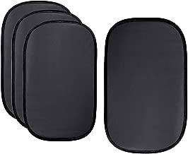 Audew (4px Car Sun Shades for Side Window - Car Window Shades for Baby (4pack) - Cling Window Shade 80 GSM for Full UV/Sun/Glare Protection