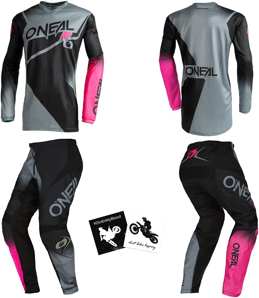 O'Neal Element Pink Free shipping on posting reviews Gray Kids Youth 24 Large Max 45% OFF 8 10 Power