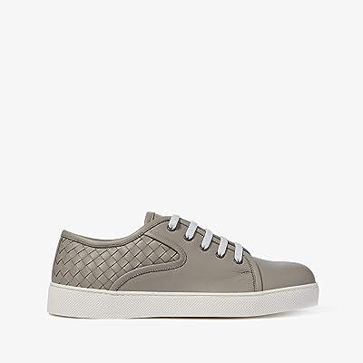Bottega Veneta Dodger Lace-Up Sneaker (Dark Cement) Men