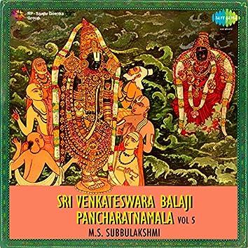 Sri Venkateswara Balaji Pancharatnamala, Vol. 5
