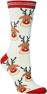 Sock Snob - 1 de los pares de las señoras Mujer festivas Pies Novedad calcetines de Navidad Tamaño 37-42 Eur