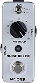 Muslady MOOER NOISE KILLER Mini Reductor de Ruido Efecto de Guitarra Pedal 2 Modos True Bypass Full Metal Shell