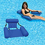 Hammock Inflatable Pool Float Lounge Water Chair for Adults, Comfortable Inflatable Swimming Pools Lounger Bed for Summer