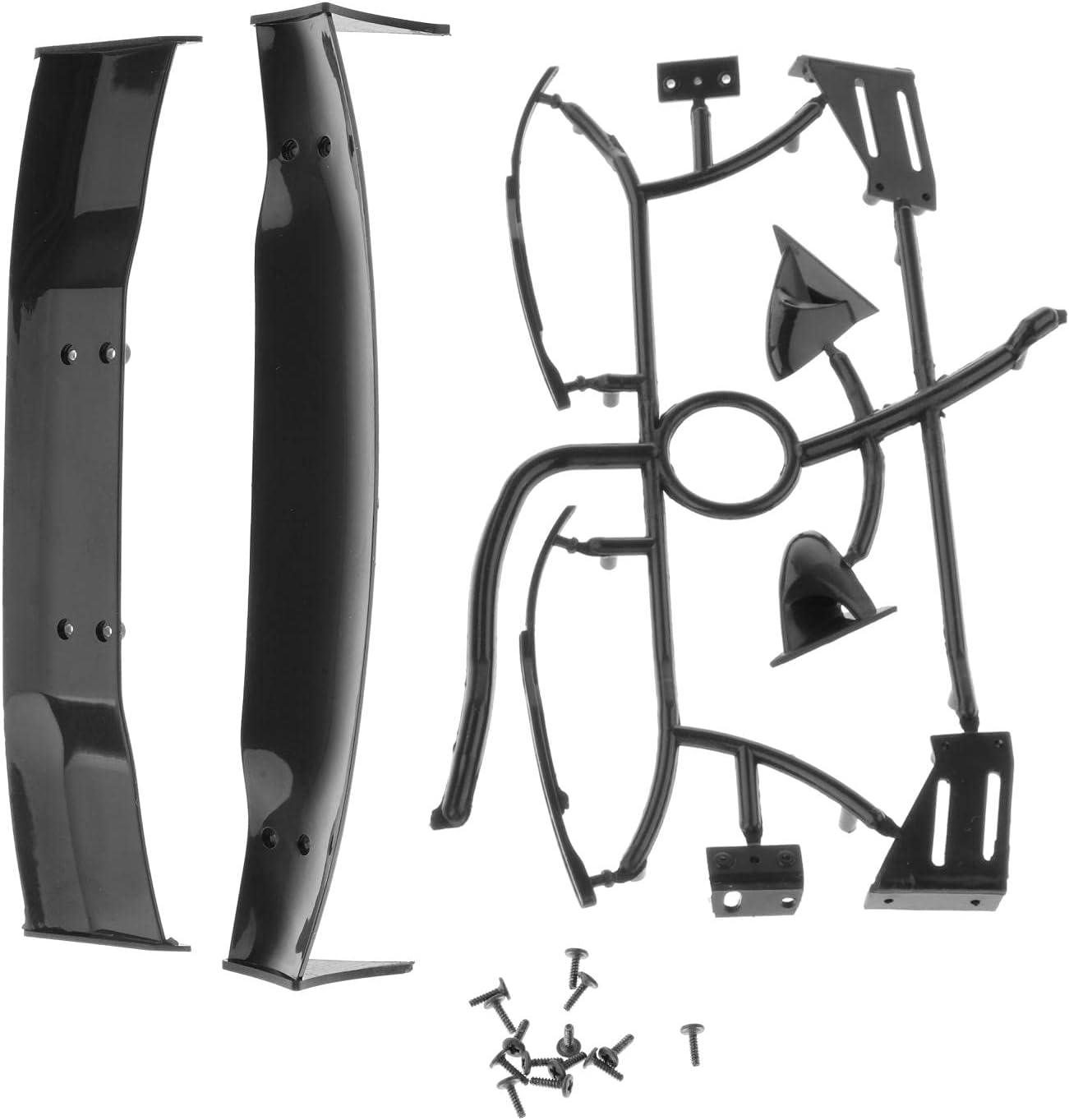 RC Body Spoiler Ranking TOP5 Wing Rearview Mirror DIY Hsp for Columbus Mall 10 Hp Kit 1 Car