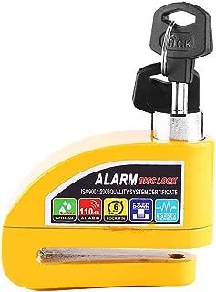 DSYHS Disc Brake Lock, Motorcycle Alarm Lock Motorbike Anti-Theft Alarm Wheel Disc Brake Security Safety Siren Lock for Suzuki Kawasaki BMW