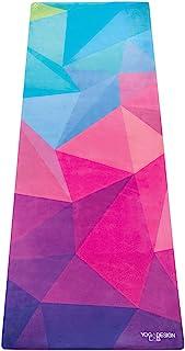 YOGA DESIGN LAB | The Combo Yoga MAT | 2-in-1 Mat+Towel | Eco Luxury | Designed in Bali | Ideal for Hot Yoga, Power, Bikram, Ashtanga, Sweat | Studio Quality | Includes Carrying Strap!