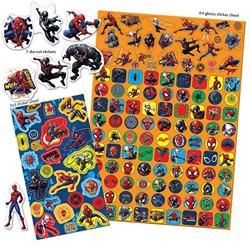 Paper Projects 9124240 Spiderman Mega-Sticker-Set