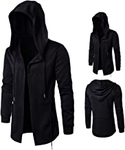 bokl 2019 Autumn and Winter Men's Windbreaker Witch Hooded Hooded Jacket